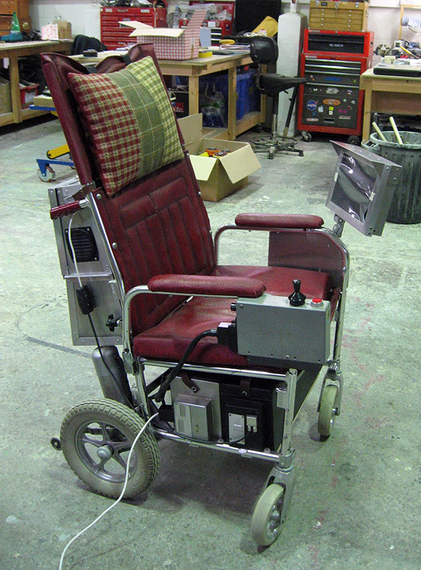 The Theory of Everything - Stephen Hawking Wheelchair