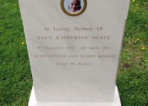 EastEnders - Lucy Beale Gravestone
