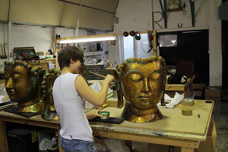 Mordecai - Buddha Head Construction