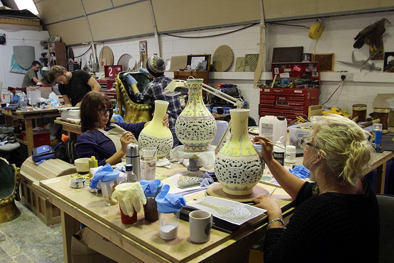 Mordecai - Vases Construction